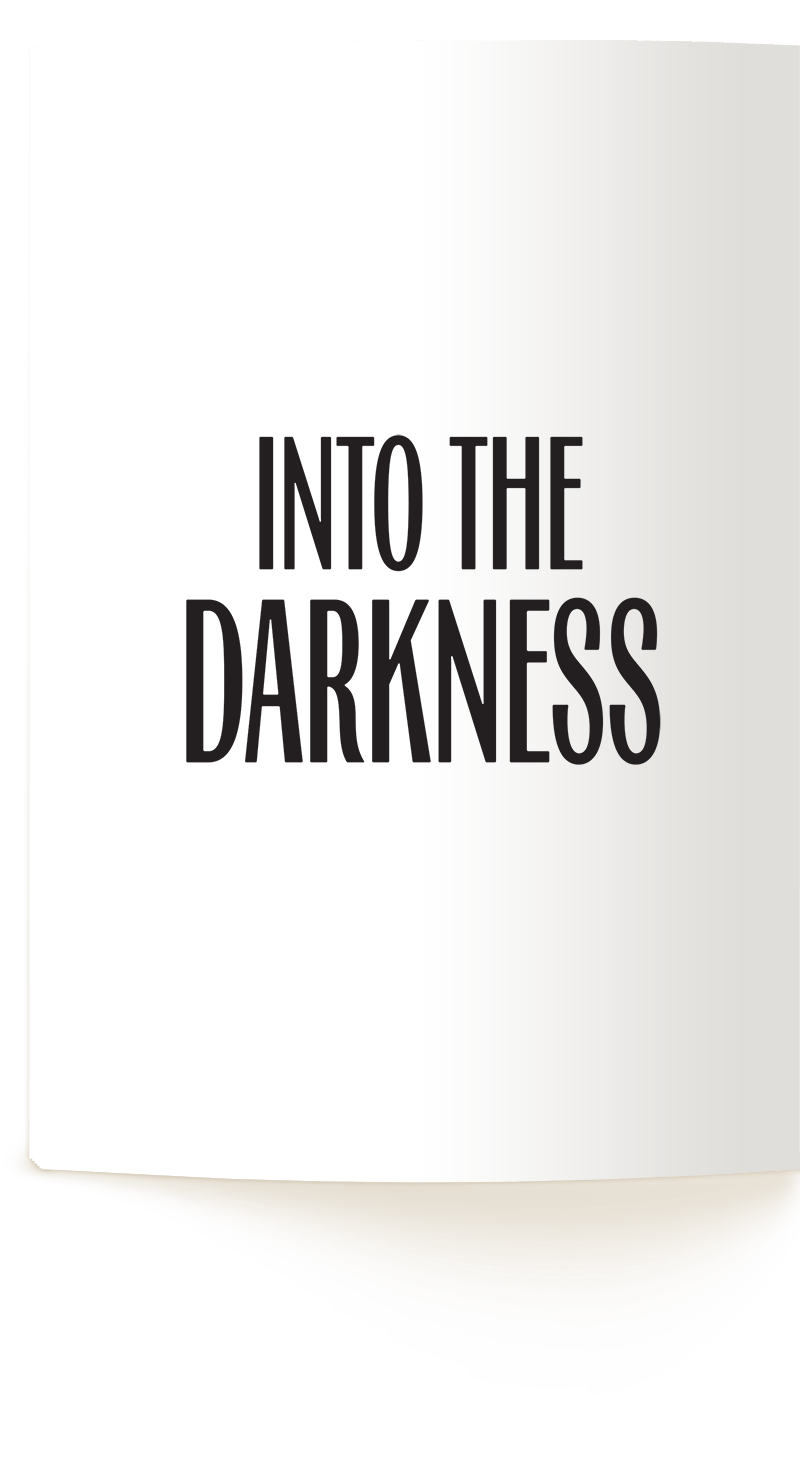 Confusion and Illusion Preview Verso Page: Into the Darkness